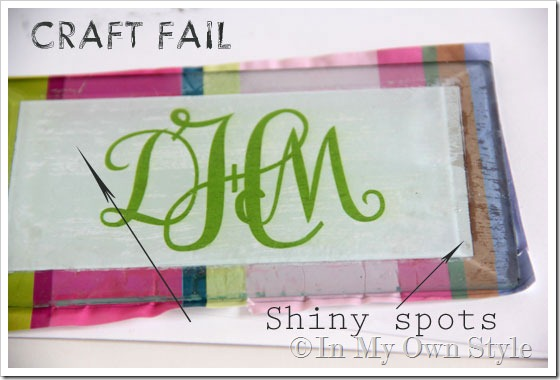 Craft fail projects
