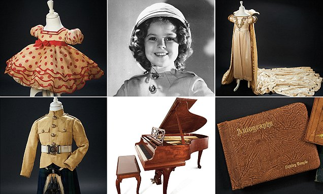 Shirley Temple's most prized possessions go up for auction