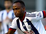 WALSALL, ENGLAND - JULY 28:  Saido Berahino of West Brom in action during the Pre-Season Friendly between Walsall and West Bromwich Albion at Banks' Stadium on July 28, 2015 in Walsall, England.  (Photo by Richard Heathcote/Getty Images)