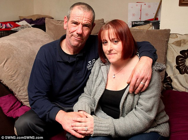 David and Sandra Greatrex, pictured in their Plymouth home, have now been married since November