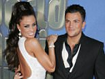 Mandatory Credit: Photo by REX Shutterstock (621834q)  Katie Price (Jordan) and Peter Andre  World Music Awards, Earls Court, London, Britain - 15 Nov 2006