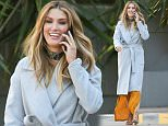 Delta Goodrem attending a work meeting at Foxtel Studios. 10/08/2015