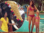 Padma Lakshmi / Instagram Trip to India