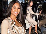 NEW YORK, NY - AUGUST 10:  Ciara is seen heading to Ralph Lauren's The Polo Bar Cafe on August 10, 2015 in New York City.  (Photo by Alessio Botticelli/GC Images)