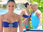 EXCLUSIVE FAO DAILY MAIL ONLINE GBP 40 PER PICTURE\n Mandatory Credit: Photo by Startraks Photo/REX Shutterstock (4937642i)\n Melissa Gorga, Joe Gorga\n Melissa Gorga and husband Joe Gorga Enjoying A Day On The Beach, Montego Bay, Jamaica - 16 Jul 2015\n \n