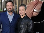 "LOS ANGELES, CA - AUGUST 10:  Actors Ben Affleck and Matt Damon attend the Project Greenlight Season 4 Winning Film premiere ""The Leisure Class"" presented by Matt Damon, Ben Affleck, Adaptive Studios and HBO at The Theatre at Ace Hotel on August 10, 2015 in Los Angeles, California.  (Photo by Angela Weiss/Getty Images)"