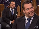 The Tonight Show with Jimmy Fallon Aug 12 2015\nSir Ben Kingsley chatted with host Jimmy Fallon about his new film ¿Learning To Drive¿ and also the star of ¿The Man From U.N.C.L.E.¿ actor Henry Cavill was a guest. Reba McEntire sang a Close Up Serenade with Jimmy to an audience member and performed her new single ¿Until They Don¿t Love You.¿