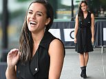 13 Aug 2015 - MANCHESTER - UK  EX CORONATION STREET STAR GEORGIA MAY FOOTE SEEN LEAVING THE BBC BREAKFAST STUDIO'S IN MANCHESTER THIS MORNING AFTER IT WAS ANNOUNCED SHE IS THE 4TH CELEBRITY TYO JOIN THIS YEARS STRICTLY COME DANCING.   BYLINE MUST READ : XPOSUREPHOTOS.COM  ***UK CLIENTS - PICTURES CONTAINING CHILDREN PLEASE PIXELATE FACE PRIOR TO PUBLICATION ***  **UK CLIENTS MUST CALL PRIOR TO TV OR ONLINE USAGE PLEASE TELEPHONE   44 208 344 2007 **