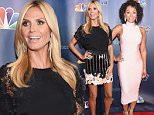 "NEW YORK, NY - AUGUST 12:  Model/TV personality Heidi Klum attends the ""America's Got Talent"" season 10 taping at Radio City Music Hall at Radio City Music Hall on August 12, 2015 in New York City.  (Photo by Michael Loccisano/Getty Images)"