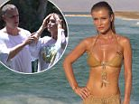 Joanna Krupa at Dead Sea