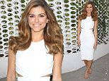 Maria Menounos looking great at her first day as E! News Anchor. She is wearing Cushnie Et Ochs dress and Tan Schutz Heels\n\nPictured: Maria Menounos\nRef: SPL1100500  110815  \nPicture by: Jen Lowery / Splash News\n\nSplash News and Pictures\nLos Angeles: 310-821-2666\nNew York: 212-619-2666\nLondon: 870-934-2666\nphotodesk@splashnews.com\n