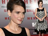 Mandatory Credit: Photo by Erik Pendzich/REX Shutterstock (4938692k)\n Winona Ryder\n HBO 'Show Me a Hero' TV series premiere, New York, America - 11 Aug 2015\n \n