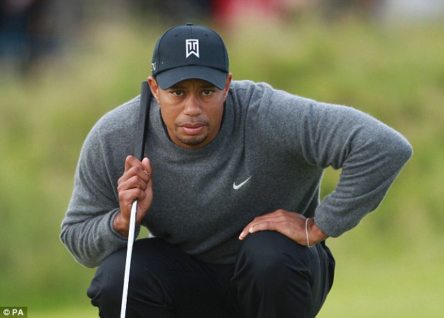 Reply: Tiger Woods took to Twitter to express his displeasure at Sergio Garcia's comments
