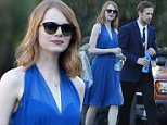 """Ryan Gosling and co star Emma Stone spotted for the first time on the set of their new movie """"La La Land"""" filming in Los Angeles Ca. Ryan plays the role of a pianist who falls for an aspiring actress played by Emma. This would be the third time the duo will be working together such movies as """"Gangster Squad"""" and """"Crazy, Stupid, Love"""".\nFeaturing: Emma Stone\nWhere: Los Angeles, California, United States\nWhen: 13 Aug 2015\nCredit: Cousart/JFXimages/WENN.com"""