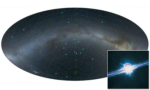 Astronomers discover the biggest structure in the universe