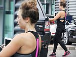 LOUGHTON, ESSEX - AUGUST 07:  (MINIMUM ONLINE/WEB USAGE FEE £150 FOR SET) Lauren Goodger pictured arriving at her local gym on August 7, 2015 in Loughton, Essex.  (Photo by Ada/SamanthaJ/GC Images)