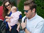 Armie Hammer, his wife Elizabeth Chambers and their daughter Harper check out of their New York City hotel.\n\nPictured: Elizabeth Chambers, Harper Hammer\nRef: SPL1101776  130815  \nPicture by: Splash News\n\nSplash News and Pictures\nLos Angeles: 310-821-2666\nNew York: 212-619-2666\nLondon: 870-934-2666\nphotodesk@splashnews.com\n