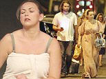 8.AUG.2015 - LONDON - UK **EXCLUSIVE PICTURES** CHARLOTTE CHURCH MADE HER LONDON STAGE ACTING DEBUT THIS WEEKEND.  THE 29-YEAR-OLD SINGER APPEARED IN A REWORKING OF ARISTOPHANES' BITING COMEDY LYSISTRATA AT THE ALMEIDA THEATRE ON FRIDAY AND SATURDAY! BYLINE MUST READ : XPOSUREPHOTOS.COM ***UK CLIENTS - PICTURES CONTAINING CHILDREN PLEASE PIXELATE FACE PRIOR TO PUBLICATION *** **UK CLIENTS MUST CALL PRIOR TO TV OR ONLINE USAGE PLEASE TELEPHONE  44 208 344 2007 ***