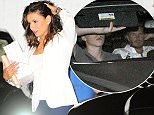 Picture Shows: Eva Longoria  August 13, 2015    Actress Eva Longoria and her boyfriend Jose Antonio Baston dine out at Beso restaurant with David and Victoria Beckham and their son Brooklyn  in Hollywood, California.     Non Exclusive  UK RIGHTS ONLY    Pictures by : FameFlynet UK © 2015  Tel : +44 (0)20 3551 5049  Email : info@fameflynet.uk.com