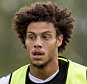 BIRMINGHAM, ENGLAND - AUGUST 13 : Rudy Gestede of Aston Villa in action during a Aston Villa training session at the club's training ground at Bodymoor Heath on August 13, 2015 in Birmingham, England. (Photo by Neville Williams/Aston Villa FC via Getty Images)