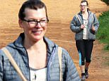"Exclusive\n Mandatory Credit: Photo by Tania Coetzee/REX Shutterstock (4938678c)\n Milla Jovovich\n Milla Jovovich hiking on Lion's Head, Cape Town, South Africa - 11 Aug 2015\n Several hikers could hardly believe their luck on Tuesday afternoon when they crossed paths with Resident Evil star, Milla Jovovich on a strenuous hike up Lion's Head in Cape Town. A keen and regular hiker, Jovovich has tweeted a few snaps of her enjoying the Cape's scenic beauty while out hiking with friends.  The actress has stepped up her training program to get back into shape before filming starts on the ""Resident Evil:The Final Chapter"", tweeting that she was ""stetching for a super intense workout"". Overtaking some of the slower walkers and with no time to stop for autographs though, she powered ahead with a group of friends, looking fairly flushed despite the chilly weather, yet pleased to have completed the hike to the top of this iconic Cape Town landmark. Production finally gets underway on the movie"