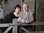 DAILY MAIL MONEY RIchard and Rita Kauffman at their home in Warmington, near Peterborough. 6th December 2013.