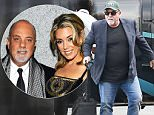 141113, EXCLUSIVE: Billy Joel arrives in Manhattan via Heliport in NYC. New York, New York - Tuesday August 11, 2015. Photograph: � PacificCoastNews. Los Angeles Office: +1 310.822.0419 sales@pacificcoastnews.com FEE MUST BE AGREED PRIOR TO USAGE