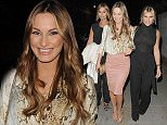 Sam Ferne and Billie seen leaving Zuma Restaurant in London  Pictured: Sam Faiers, Billie Faiers Ferne McCann Ref: SPL1101201  120815   Picture by: Splash News  Splash News and Pictures Los Angeles: 310-821-2666 New York: 212-619-2666 London: 870-934-2666 photodesk@splashnews.com