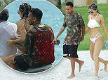 Kylie Jenner spends time with her boyfriend, Tyga and Sister Kendal and Hayley Baldwin while on vacation at Casa Aramara, Punta Mita, Mexico\n**MANDETORY MENTION OF CASA ARAMARA, PUNTA MITA