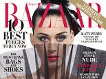 Katy Perry takes center stage on the cover of Harper?s BAZAAR?s September issue.  Selected as one of the 2015 ICONS by Carine Roitfeld, the September cover was photographed by legendary photographer Jean-Paul Goude.  This year?s ICONS feature transforms Katy Perry, Mariah Carey, Oprah Winfrey and others into their iconic inspirations.  The full list of 2015 ICONS are Chris Lee, Dakota Johnson, Jessica Chastain, Katy Perry, Lucky Blue, Mariah Carey, Oprah Winfrey, Rosie Huntington-Whiteley and Willow Smith.    Harper?s BAZAAR editors from around the world will come together during New York Fashion Week on Wednesday, September 16th to celebrate ICONS by Carine Roitfeld at the legendary Plaza Hotel with event partners COVERGIRL, Infor, Kit and Ace, Samsung, Belvedere Vodka, and Mo�t & Chandon.    Photo Credits: Photos: Jean Paul Goude Styled by Carine Roitfeld  If anything is used online, you must link back to: http://www.harpersbazaar.com/fashion/photography/news/a11722/katy-perry-cover