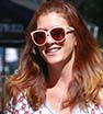 Fine display: Kate Walsh showed off her youthful physique and incredible legs as she shopped on Melrose Place in Los Angeles on Tuesday.
