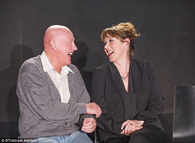 Misguided: Niall Buggy (Shaun) and Alexandra Gilbreath (Gail) in The Invisible by Rebecca Lenkiewicz