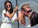 """UK CLIENTS MUST CREDIT: AKM-GSI ONLY\nEXCLUSIVE: **SHOT ON 8/11/15** Vancouver, BC - """"The Bachelorette"""" star Kaitlyn Bristowe and her friends do a photo shoot with fiance Shawn Booth on a paddle board at Jericho Beach in Vancouver, BC Canada. It was windy and wavey so Shawn didn't last too long on the water!\n\nPictured: Kaitlyn Bristowe, Shawn Booth\nRef: SPL1101094  120815   EXCLUSIVE\nPicture by: AKM-GSI / Splash News\n\n"""