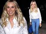 Alana Stewart is stunning after celebrating her 70th birthday just a few months ago as she arrives to dine at Craig's. Rod Stewart's former wife stops to pose with fans as she arrives. August 11, 2015. X17online.com
