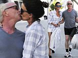 Picture Shows: Janice Dickinson, Robert Gerner  August 13, 2015\n \n Model Janice Dickinson stops to plant a kiss on her 69-year-old fiance Robert Gerner while enjoying a day of shopping in Beverly Hills, California. \n \n Janice and her psychopharmacology expert fiance, have been engaged since December of 2012.\n \n Exclusive - All Round\n UK RIGHTS ONLY\n \n Pictures by : FameFlynet UK © 2015\n Tel : +44 (0)20 3551 5049\n Email : info@fameflynet.uk.com