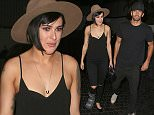 West Hollywood, CA - Rumer Willis and a male companion wrap up a night out at Chateau Marmont in West Hollywood.  The 'Dancing With The Stars' champ is still recovering after suffering from a stress fracture in her right foot back in June. AKM-GSI         August 13, 2015 To License These Photos, Please Contact : Steve Ginsburg (310) 505-8447 (323) 423-9397 steve@akmgsi.com sales@akmgsi.com or Maria Buda (917) 242-1505 mbuda@akmgsi.com ginsburgspalyinc@gmail.com