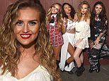 SANTA CLARA, CA - AUGUST 13:  (EXCLUSIVE COVERAGE) Singers Jade Thirlwall, Leigh-Anne Pinnock, Perrie Edwards and Jesy Nelson of Little Mix pose backstage during the 99.7 NOW Summer Splash at California's Great America on August 13, 2015 in Santa Clara, California.  (Photo by C Flanigan/Getty Images)