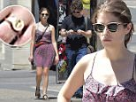 NEW YORK, NY - AUGUST 14:  (EXCLUSIVE COVARGE) Ben Richardson and Anna Kendrick are seen in Soho  on August 14, 2015 in New York City.  (Photo by Alo Ceballos/GC Images)