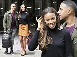 Singers Marvin and Rochelle Humes are pictured leaving the ITV studios after co-presenting 'This Morning'.\n\nPictured: Marvin Humes, Rochelle Humes\nRef: SPL1102422  140815  \nPicture by: Simon Earl / Splash News\n\nSplash News and Pictures\nLos Angeles: 310-821-2666\nNew York: 212-619-2666\nLondon: 870-934-2666\nphotodesk@splashnews.com\n