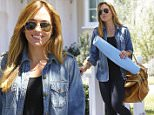 Picture Shows: Christine Ouzounian  August 14, 2015\n \n Former nanny Christine Ouzounian is spotted leaving her home in Santa Monica, California and heading to a meeting in Century City. Christine was dressed for comfort in a denim shirt, black pants, and sneakers.\n \n Non Exclusive\n UK RIGHTS ONLY \n \n Pictures by : FameFlynet UK © 2015\n Tel : +44 (0)20 3551 5049\n Email : info@fameflynet.uk.com