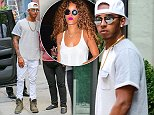 Lewis Hamilton seen out and about in SoHo, New York City\n\nPictured: Lewis Hamilton\nRef: SPL1102195  130815  \nPicture by: Felipe Ramales / Splash News\n\nSplash News and Pictures\nLos Angeles: 310-821-2666\nNew York: 212-619-2666\nLondon: 870-934-2666\nphotodesk@splashnews.com\n