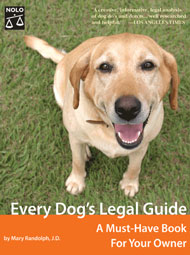 Every Dog's Legal Guide - The Book
