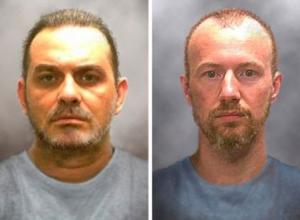 Manhunt for escaped killers focuses on camp near prison
