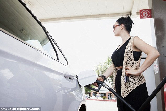 Pumping up: The cost of both diesel and unleaded has risen for the first time since September in the last week