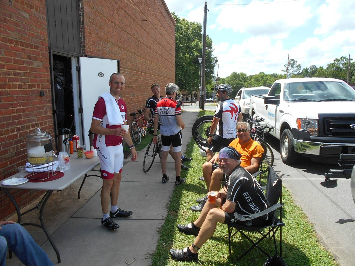 Post Ride Discussions