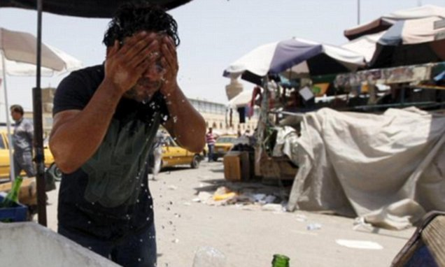 Iran temperature hits 165F due to 'heat dome' over Middle East