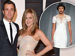 BEVERLY HILLS, CA - FEBRUARY 22:  Actors Justin Theroux and Jennifer Aniston arrive at the 2015 Vanity Fair Oscar Party Hosted By Graydon Carter at Wallis Annenberg Center for the Performing Arts on February 22, 2015 in Beverly Hills, California.  (Photo by Axelle/Bauer-Griffin/FilmMagic)
