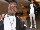 LOS ANGELES, CA - AUGUST 18:  Wiz Khalifa is seen on August 18, 2015 in Los Angeles, California.  (Photo by SMXRF/Star Max/GC Images)