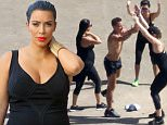 """Picture Shows: Kim Kardashian, Kourtney Kardashian, Khloe Kardashian  August 18, 2015\n \n """"Keeping Up With the Kardashian"""" stars Khloe, Kourtney, Kendall and Kylie step out in St. Barts during their vacation. The group headed out on a boat to go parasailing. \n \n Non-Exclusive\n UK Rights Only\n \n Pictures by : FameFlynet UK © 2015\n Tel : +44 (0)20 3551 5049\n Email : info@fameflynet.uk.com"""