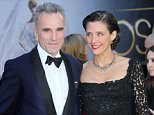 Mandatory Credit: Photo by Jim Smeal/BEI/REX Shutterstock (2165835ld)  Daniel Day-Lewis and wife Rebecca Miller  85th Annual Academy Awards Oscars, Arrivals, Los Angeles, America - 24 Feb 2013